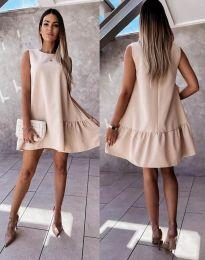 Šaty - kód 3456 - bežová