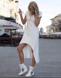 Šaty - kód 5507 - bílá