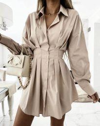 Šaty - kód 8141 - bežová