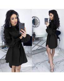 Šaty - kód 6364 - černá