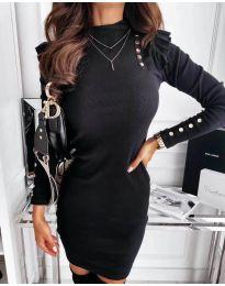 Šaty - kód 8484 - černá