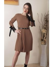 Šaty - kód 489 - hněda