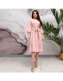 Šaty - kód 4571 - růžová
