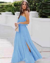 Šaty - kód 8871 - světle modrá