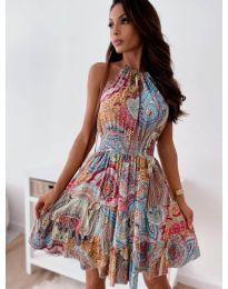 Šaty - kód 3858 - vícebarevné