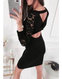 Šaty - kód 676 - černá