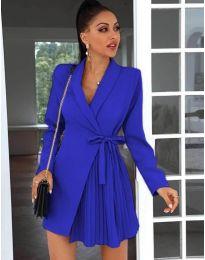 Šaty - kód 0333 - modrá