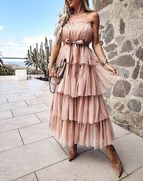Šaty - kód 1546 - bežová