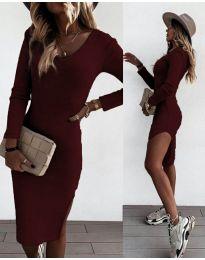 Šaty - kód 884 - bordeaux