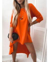 Šaty - kód 1613 - oranžová
