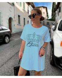 Šaty - kód 2525 - modrý