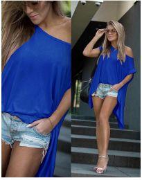 Tričko - kód 0909 - modrá