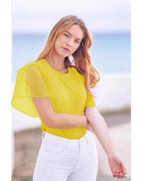 Tričko - kód 527 - žlutá