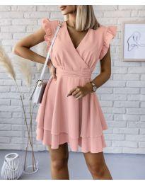 Šaty - kód 409 - růžová