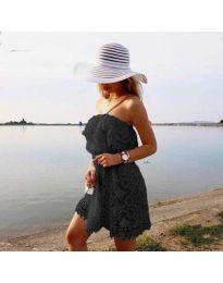 Šaty - kód 4849 - černá