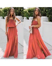 Šaty - kód 061 - červená