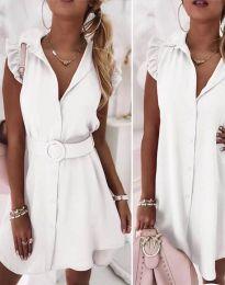 Šaty - kód 7411 - bílá