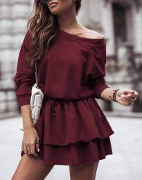 Šaty - kód 0525 - bordeaux