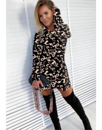 Šaty - kód 9790 - 4 - vícebarevné