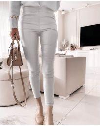 Kalhoty - kód 2788 - 2 - stříbro