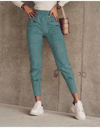 Kalhoty - kód 5664 - mentolová