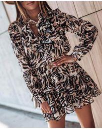 Šaty - kód 6014 - 3 - barevné