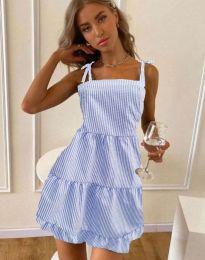 Šaty - kód 0316 - světle modrá