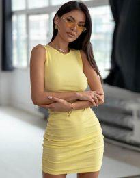 Šaty - kód 11795 - žlutá