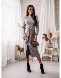 Šaty - kód 9010 - šedá