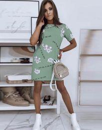 Šaty - kód 2906 - zelená