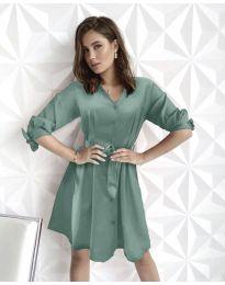 Šaty - kód 9028 - mentolová