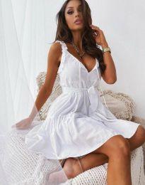 Šaty - kód 0710 - 3 - bílá