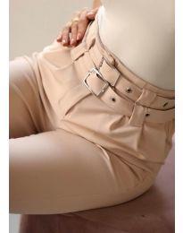 Kalhoty - kód 317 - bežová