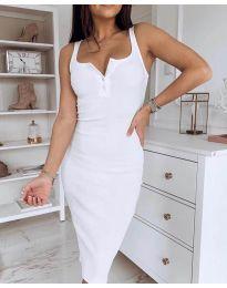 Šaty - kód 3180 - bíla