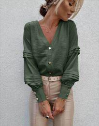 Košile - kód 7492 - zelená