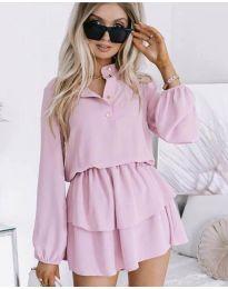 Šaty - kód 4093 - růžová