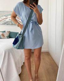 Šaty - kód 2258 - světle modrá