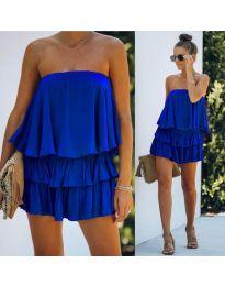 Šaty - kód 0489 - tmavě modrá