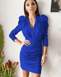 Šaty - kód 7937 - modrý