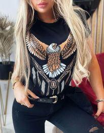 Tričko - kód 4375 - černá