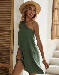 Šaty - kód 7003 - olivově zelená