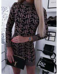 Šaty - kód 3292 - 4 - vícebarevné