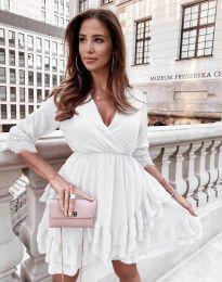 Šaty - kód 0545 - bílá