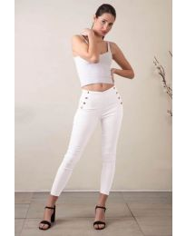 Kalhoty - kód 733 - 3 - bíla