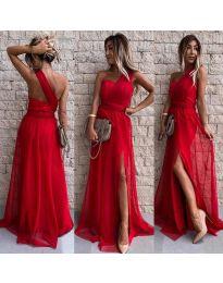 Šaty - kód 2011 - červená
