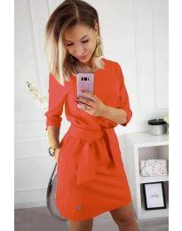 Šaty - kód 594 - oranžová