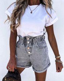 Krátké kalhoty - kód 5301 - 3 - šedá