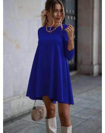 Šaty - kód 371 - modrá