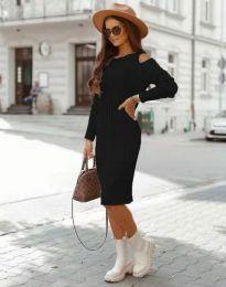 Šaty - kód 8203 - černá