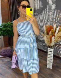 Šaty - kód 14777 - 1 - světle modrá